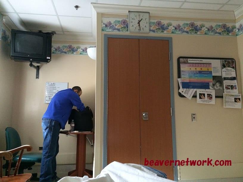出産する個室